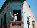 La rue Camilito, dans La Boca