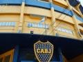 Le stade de foot, dans La Boca