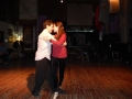 Tango à la Catedral, démonstration des professeurs