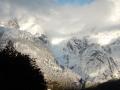 Excursion sur le glacier Los Exploradores - glaciers à flanc de montagne