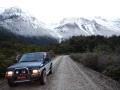 Excursion sur le glacier Los Exploradores - sur la route