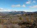 Reserve nationale Tamango - Vue sur la petite ville de Cochrane