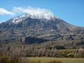 El Cerro Piramidal de Puerto Ibanez (cerro = colline...)