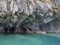 Grottes de marbre, l'eau est si bleue