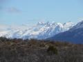 Reserve nationale Tamango - vue sur les montagnes