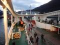 Arrivée à Puerto Chacabuco à 8h du matin