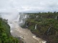 Vue depuis le côté brésilien - Garganta des Diablo y Rio Iguazu Inferior