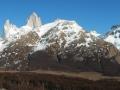 El Chalten - Panorama sur le Fitz Roy et Las Piedras Blancas