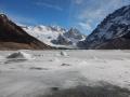 El Chalten - Le Lago Torre, glacé