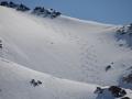 El Chalten - Certains profitent de la neige...