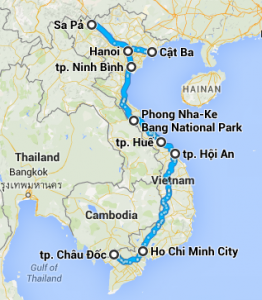 itineraire-vietnam