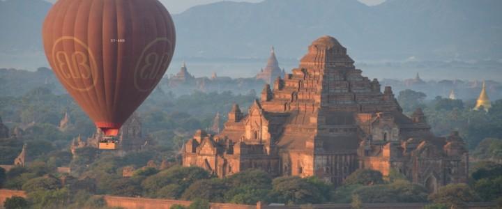 Bagan, à pied, en vélo, en montgolfière
