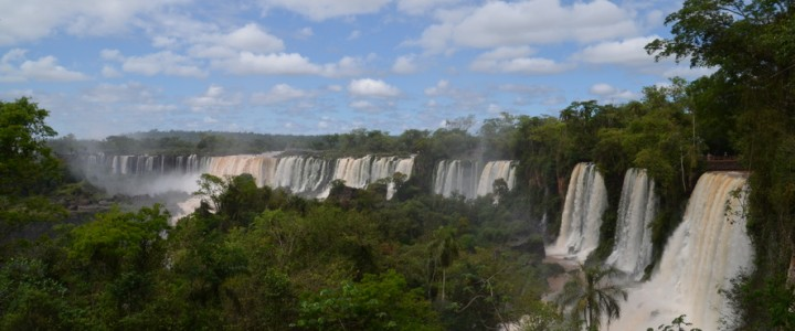 Ambiance (douche) tropicale à Iguazu